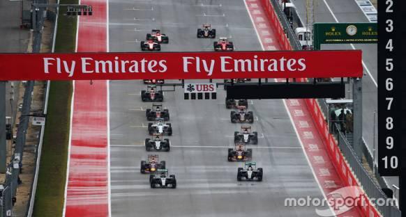 2016'da Amerika GP'si devam ediyor
