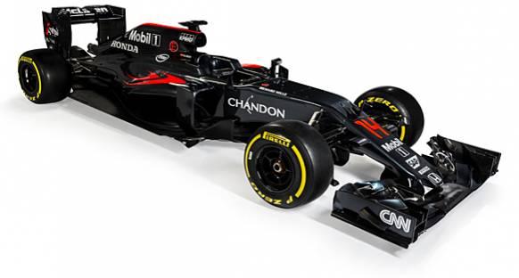 Karşınızda McLaren-Honda'nın yeni aracı MP4-31