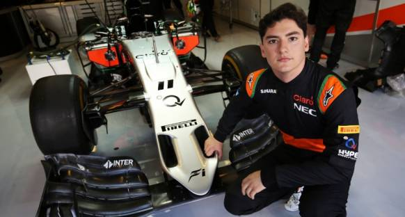 Force India'da piste çıkacak ilk isim Alfonso Celis