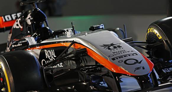Force India Williams'ı kendilerine örnek olarak görüyor