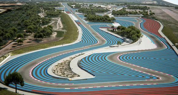 Formula 1 Paul Ricard'da piste geri dönüyor
