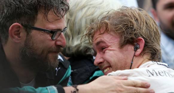 Lauda 'Rosberg şu an Hamilton'dan daha iyi'