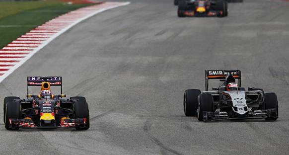Hulkenberg/Ricciardo Temasına Kanat Hasarı Neden Olmuş
