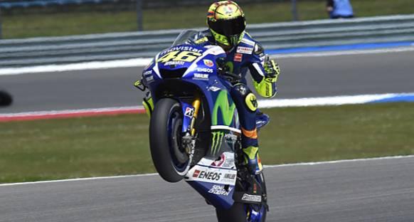 Assen'de Rossi rüzgarı