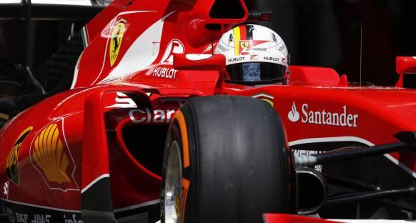 Vettel: 'Bugün Mercedes üzerinde baskı kurduk'
