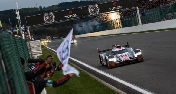 Audi Spa'da ikide iki yaptı