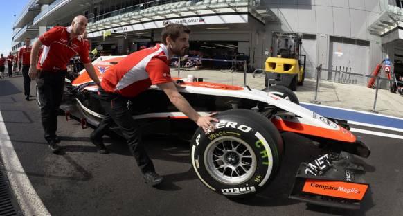 Marussia'nın dönüş planı