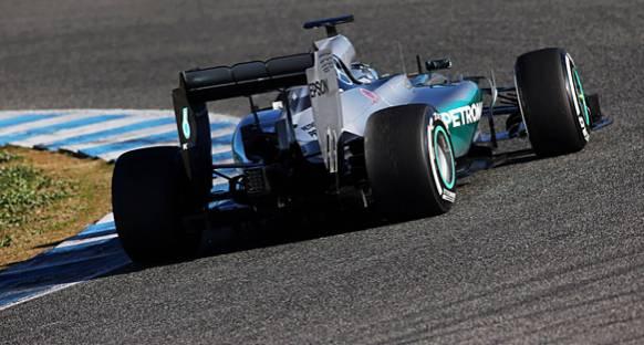 Jerez'de Rosberg hızlı başladı