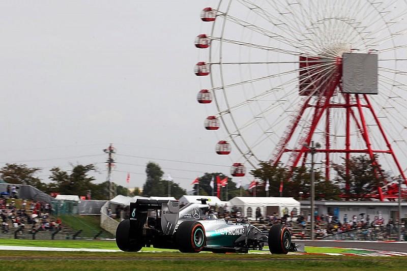 Гран При Японии: третья тренировка