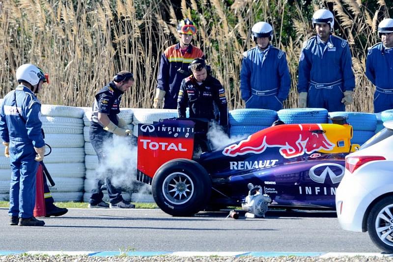 Renault столкнулось с проблемами на тестах