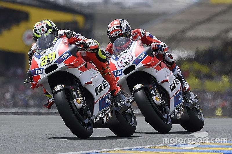Ducati stelt beslissing over teamgenoot Lorenzo uit