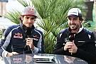 Alonso quisiera ser un conejo y Sainz Jr. un suricato