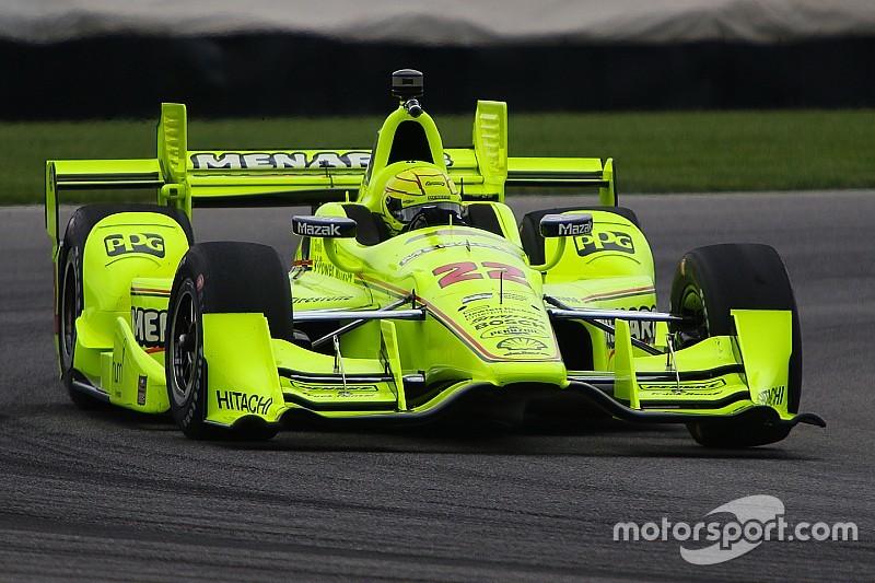 Simon Pagenaud overtuigt opnieuw in kwalificatie GP Indianapolis