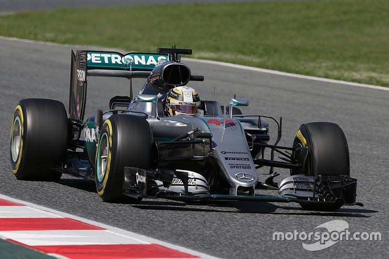 Formel 1 Barcelona: Dritte Pole-Position der Saison von Lewis Hamilton