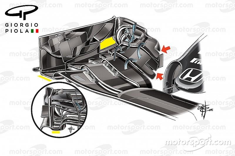 Tech analyse: Updates McLaren onder de loep genomen