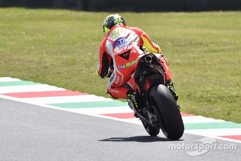 Andrea Iannone fährt in Mugello zur Bestzeit