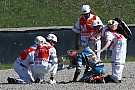Rabat se fractura la clavícula izquierda y se perderá el GP