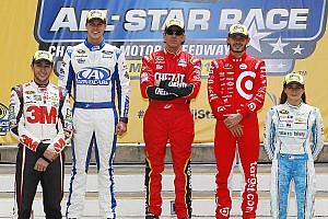 NASCAR Sprint Cup Crónica de Carrera Cinco pilotos avanzan a la carrera All-Star