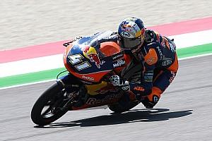 Moto3 Gara Tris di Binder al Mugello davanti ad un super Di Giannantonio