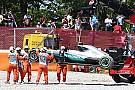 Montoya geeft Hamilton de schuld van crash Spanje: