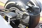 Breve análisis técnico: conducto de freno delantero del Mercedes W07