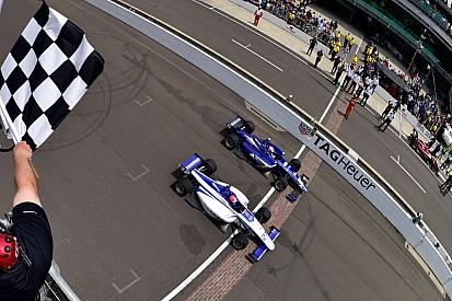 Dean Stoneman gewinnt Indy-Lights-Fotofinish in Indianapolis