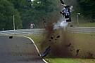 BF3 Vaidyanathan komt goed weg na horrorcrash op Oulton Park