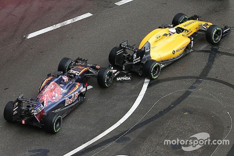 Magnussen dice que Kvyat perdió la cabeza en Mónaco