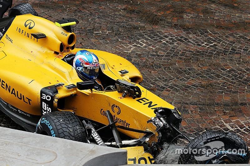 Palmer con un nuovo telaio in Canada dopo l'incidente a Monaco