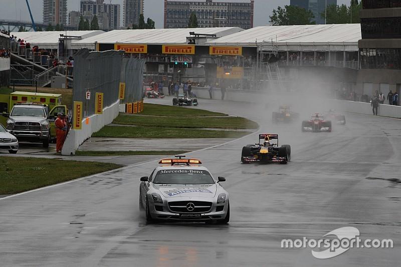 La lluvia podría aparecer en la carrera de Canadá