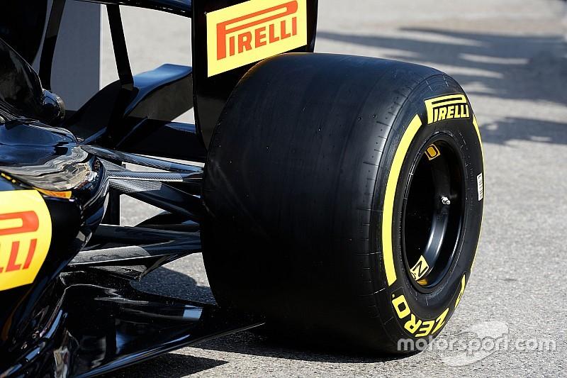 """Pirelli: """"2017-banden geweldig voor de Formule 1"""""""