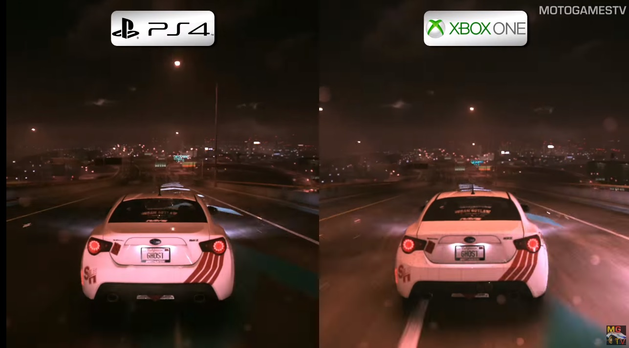 Need for Speed: PS4 Vs. Xbox One