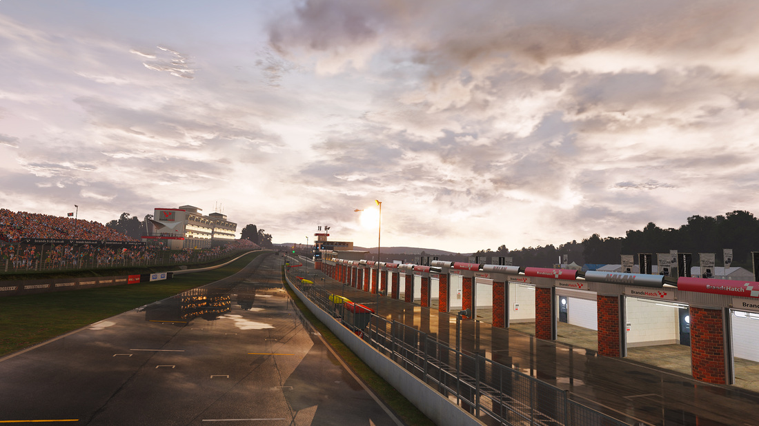 Project CARS Vs. Forza Motorsport 6: Brands Hatch
