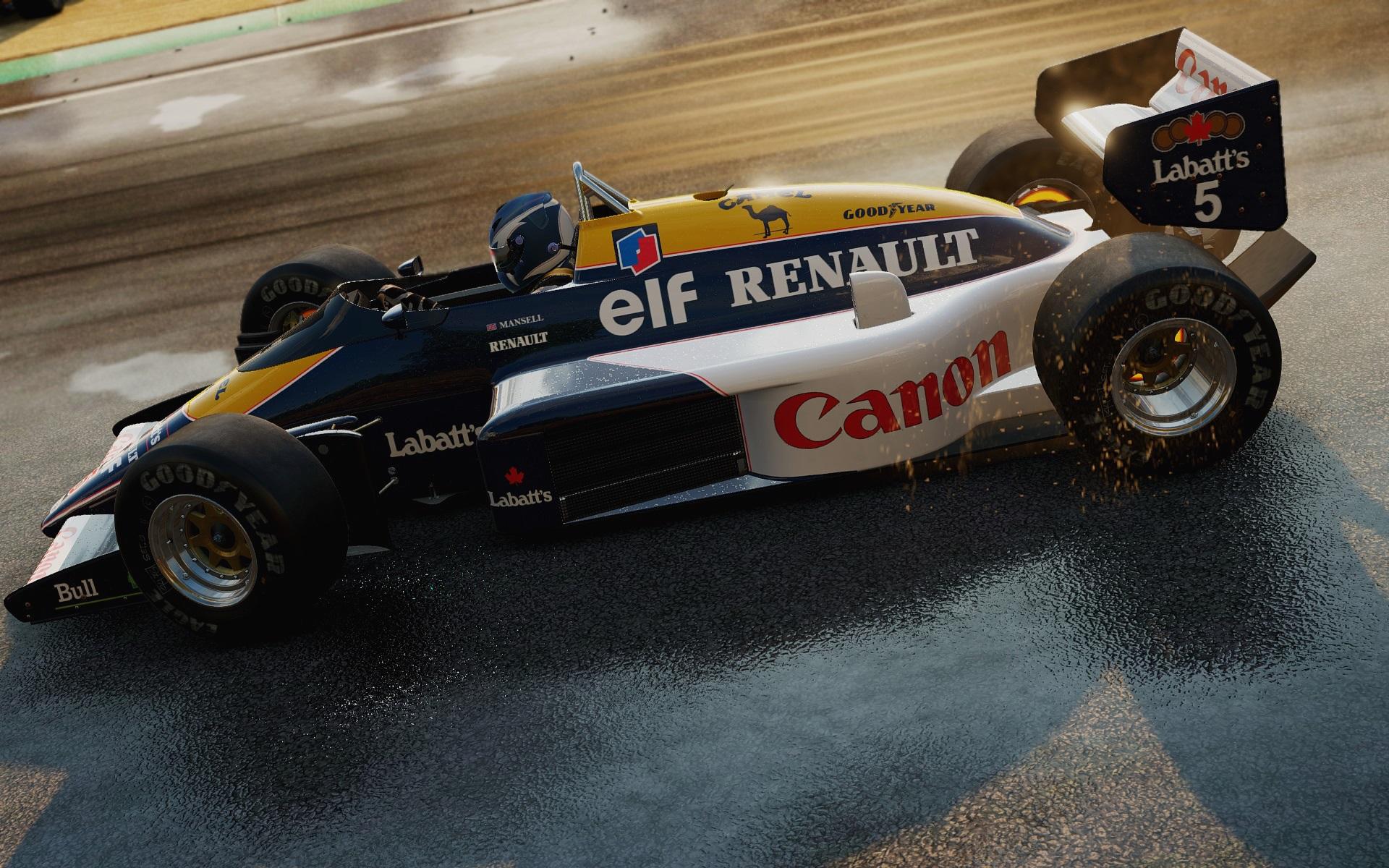 Project CARS: Klasszikus és modern F1-es autók a játékban