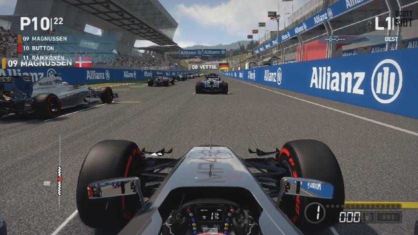 F1 2014: Ilyen legnehezebb fokozaton a játék! Red Bull Ring szárazon és esőben