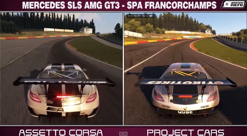 Project CARS a legmodernebb szimulátor ellen: Mercedes SLS AMG GT3