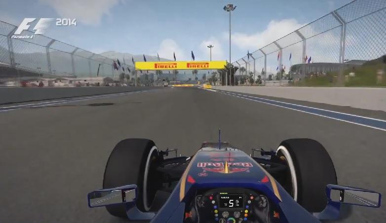 F1 2014: Megjelent az első in-game videó az orosz F1-es pályáról