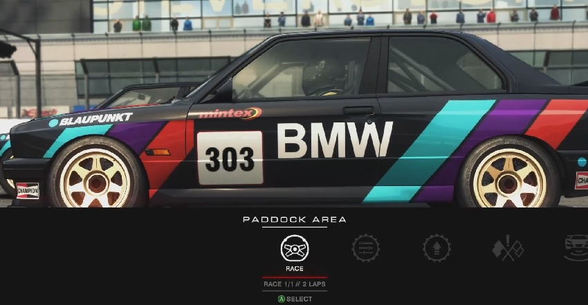 GRID Autosport - Touring Legends Pack: BMW E30 Touring Car