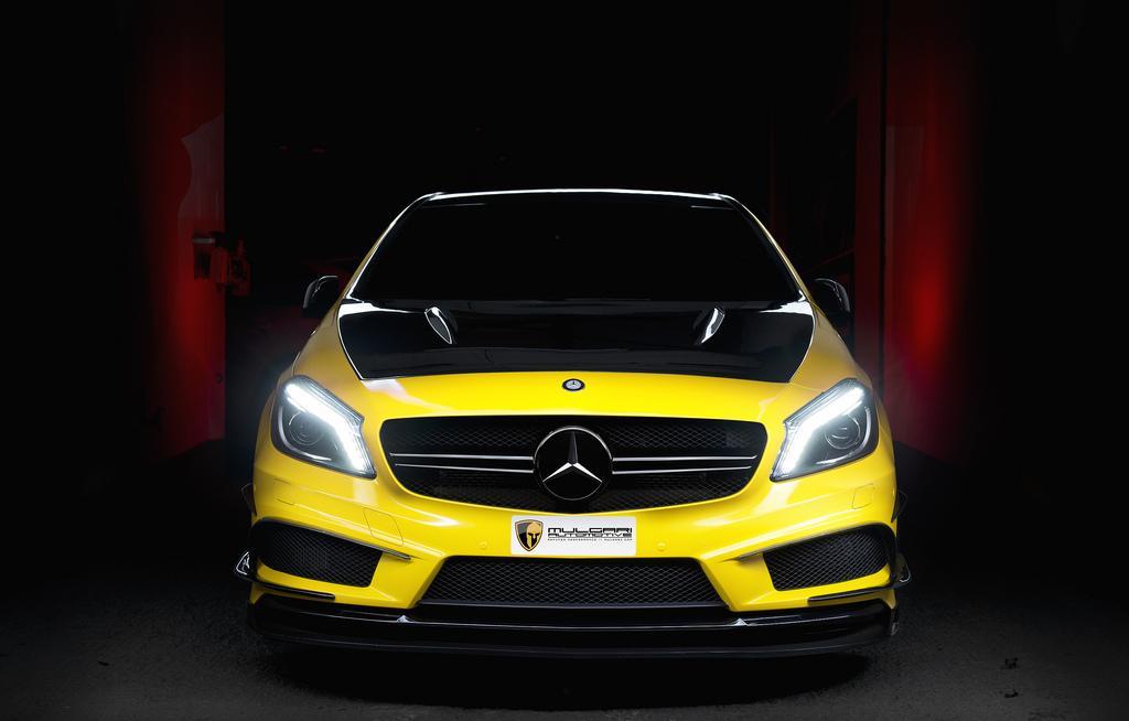 Project CARS: Mercedes A45 AMG a játékban