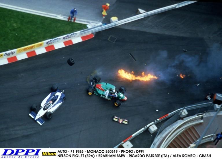 Egy nagyon látványos baleset Monacóból: 1985-ben ezen a napon