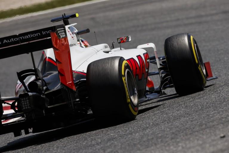 Egy képen Grosjean és Gutierrez onboardja: a két Haas összeért egymással