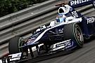 Barrichello szétcsapja a Williamst, majd kidobja a kormányt, amin átmennek