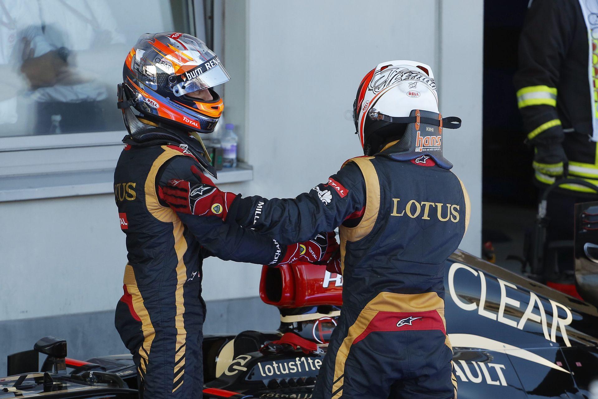"""Räikkönen durván beoltotta Grosjeant: """"Romain? Ki???"""""""