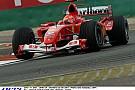 12 éve Kínában Michael Schumacher a Ferrarival