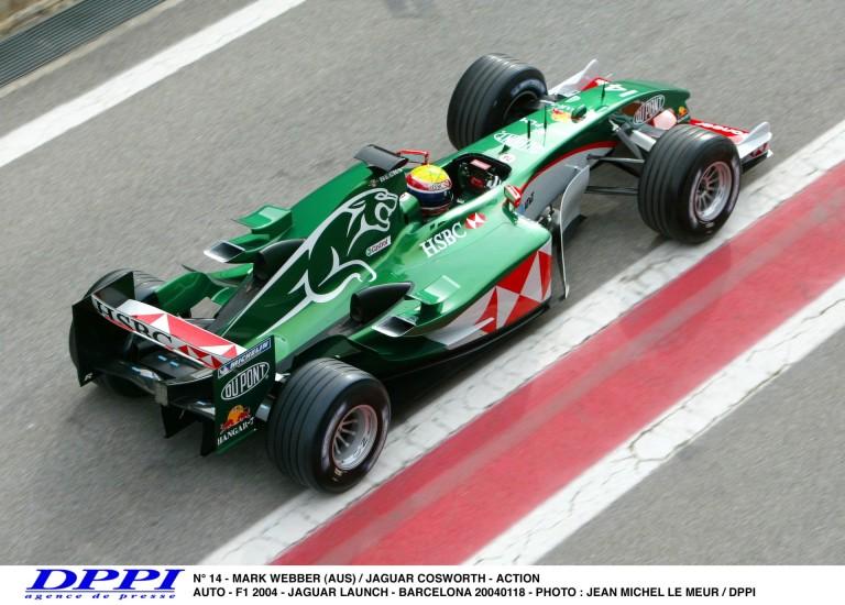 Amikor még a Jaguar a Forma-1-ben volt: Webber csapatása Sanghajban