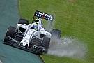 A Williams is rendesen elázott az ausztrál esőben