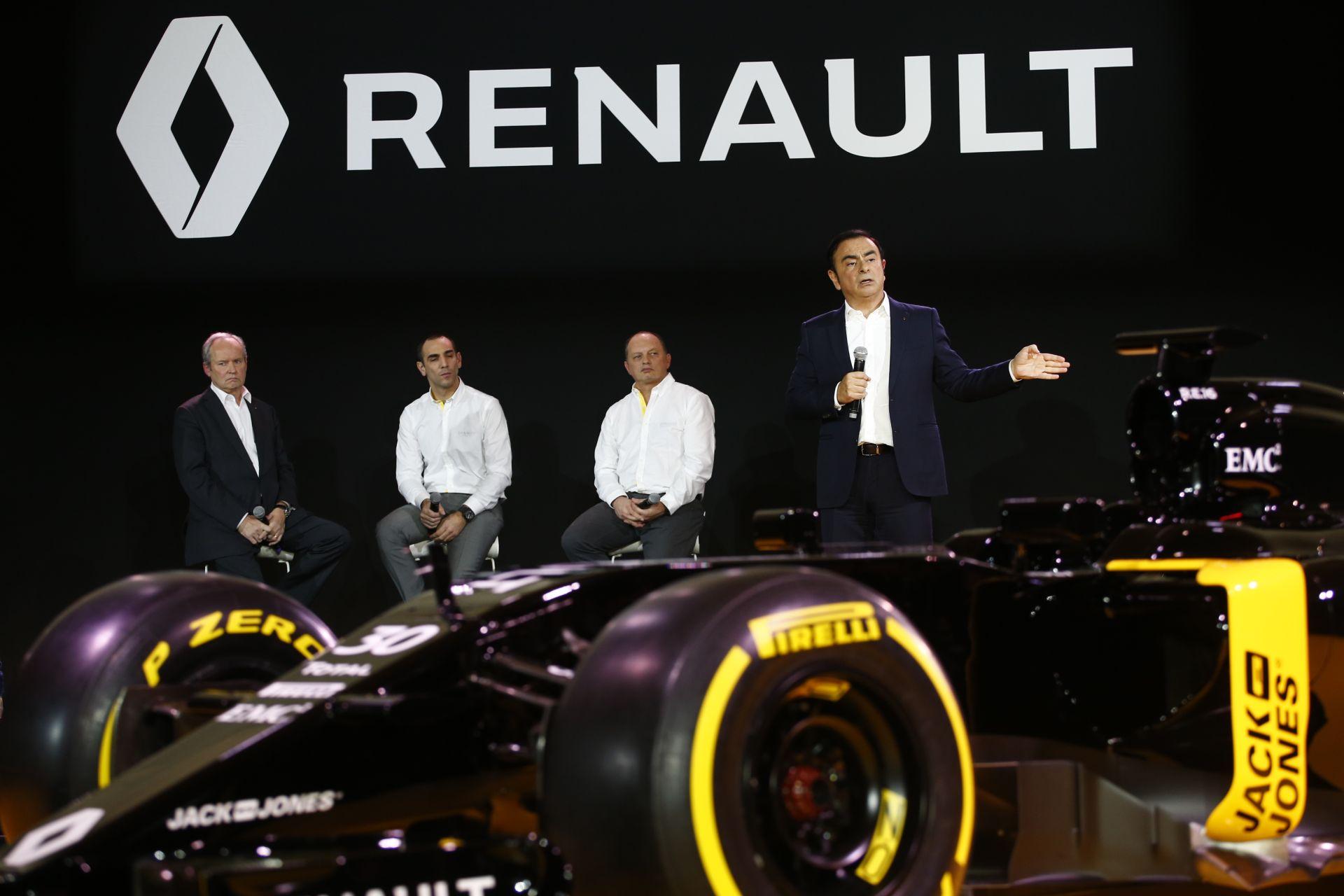Jövő héten indítják be az igazi RS16-ot a Renault-nál