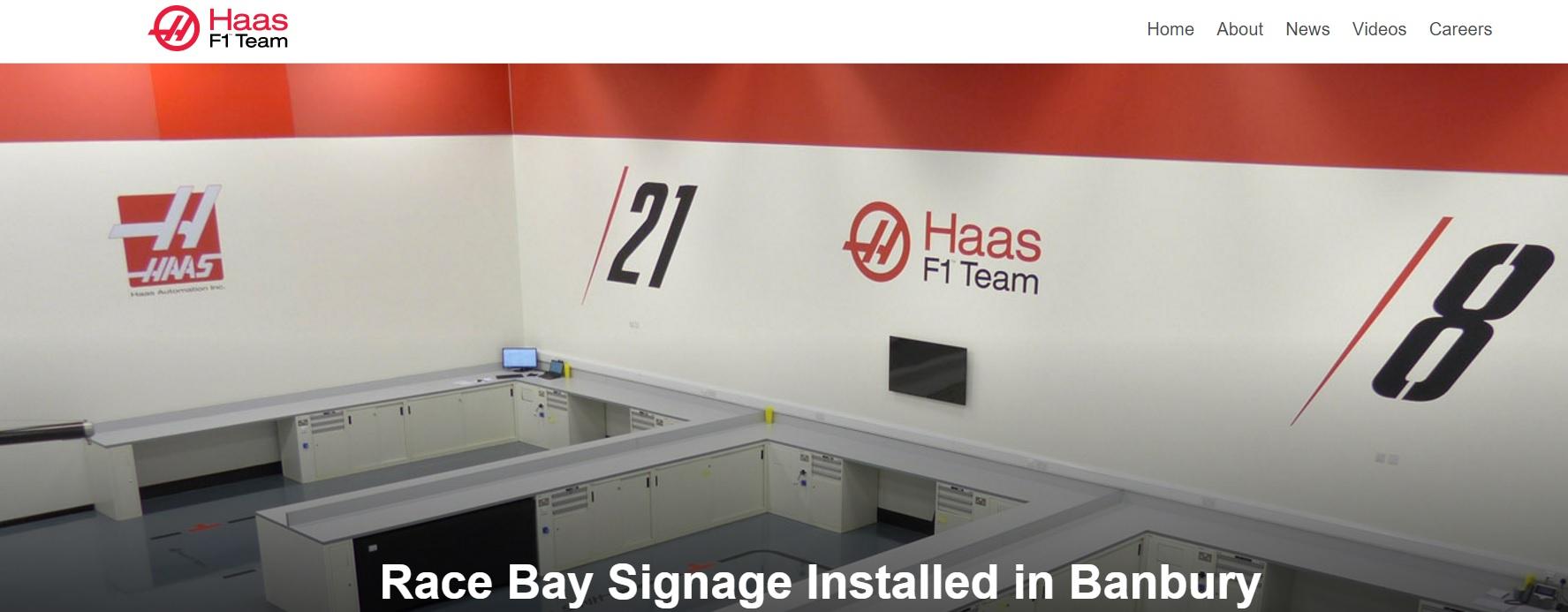 Ilyen lesz a Haas F1 Team festése? Nagyon COOL lenne!