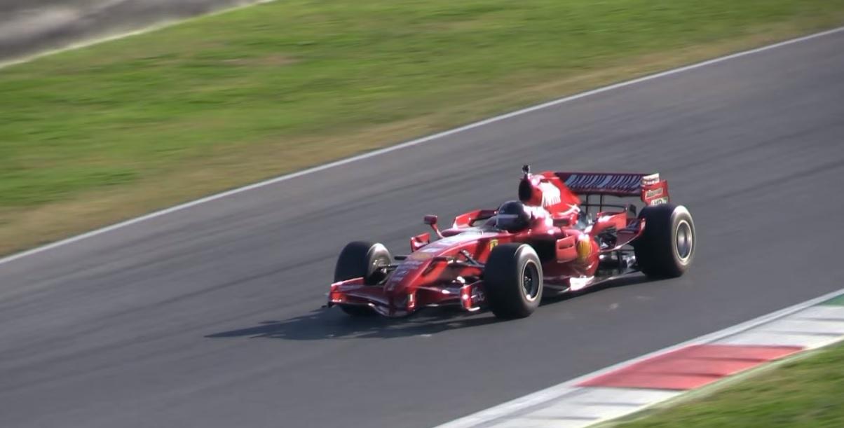 Brutális: így szólnak a 2007-es és 2008-as F1-es Ferrarik