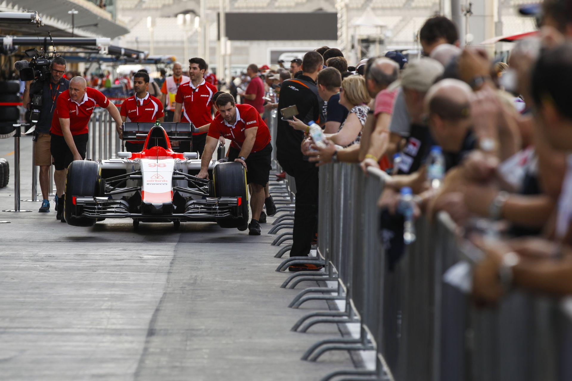 Már pontszerzést emleget a Manornak a Mercedes sportvezetője